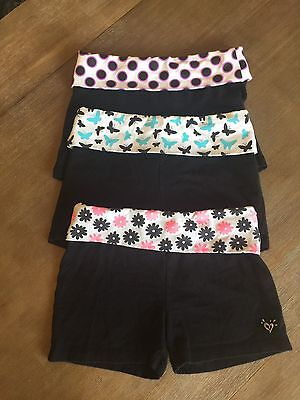 Girls JUSTICE yoga Shorts Lot Of 3 - Size 12