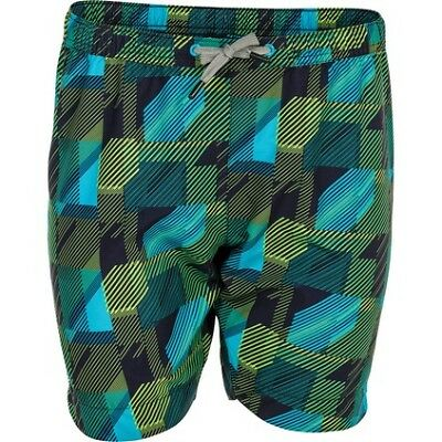 Outdoor Expedition Angle Camo Boardshorts - Youth, Green, 10