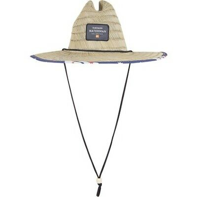 Quiksilver Australia Day Straw Hat - Mens, Natural, L/XL