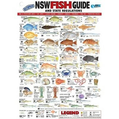 AFN Fish ID NSW Maps/Guides