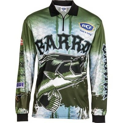 BCF Barra Sublimated Polo - Mens, Steel, 3XL