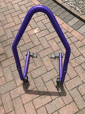 Swingarm Rear Paddock Stand Lift Motorcycle Motorbike