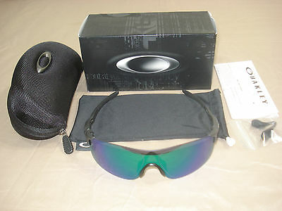 9383-03 38 NEW 2017 OAKLEY EVZERO PITCH STEEL w JADE IRIDIUM HARD CASE 9383-0338