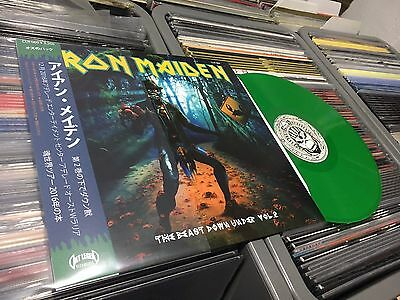 Iron Maiden The Beast Down Under Vol 2  Lp Green Vinyl