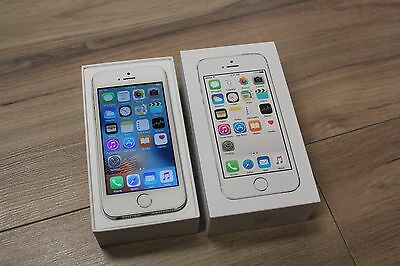 Apple iPhone 5S 16GB Silver *BLACKLISTED* Smartphone (MTS Carrier)