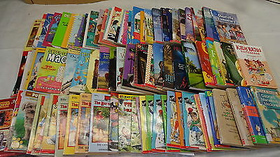 KIDS Pre-Teen Softcover BOOKS Lot 89 Chapter-Size Stories Novels Boys Girls