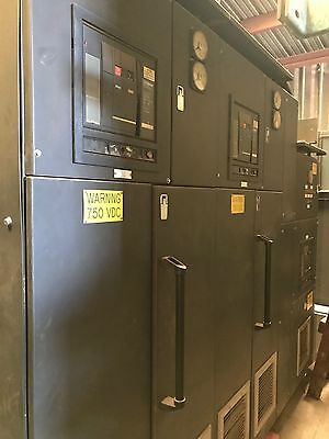 Complete SCR IEC package 4 generator bays and 7 SCR bays