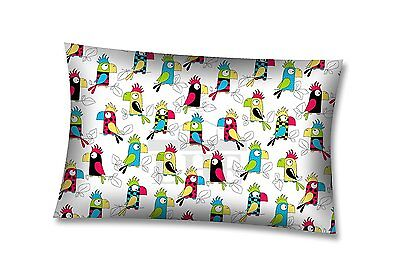 LHE BABY PILLOWCASE 100% COTTON PATTERNED 40x60 COT BED TODDLER BED SINGLE BED