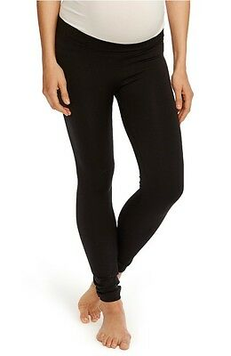 Rosie Pope | Nordstrom Seamless Low Rise Maternity Leggings Black Size Large L
