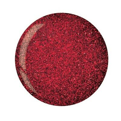 Cuccio Powder Polish Dip System Dipping Powder - Dark Red Glitter 45g (5545)
