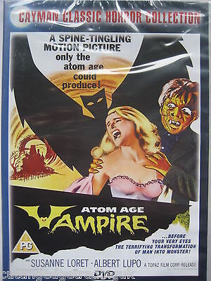 Atom Age Vampire: Cayman Classic Horror Collection (DVD) NEW SEALED PAL Region 2
