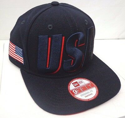 7b55755dc84 Like us on Facebook · USA American Flag Men s New Era 9FIFTY Snapback Cap  Hat