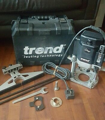 Trend T10 ROUTER 240v with Accessories and Carry Case