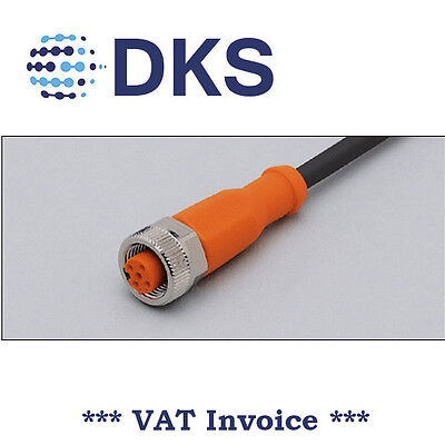 IFM  EVC002 M12 Socket Straight 5 Pin 5m PUR Sensor Cable 000284