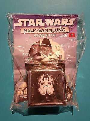 Star Wars Helm-Sammlung Nr.9   AT-AT Pilot  OVP