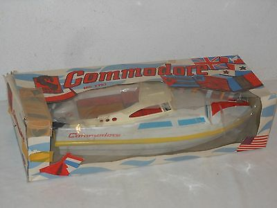 Vintage Toy - Ms Toy - Grosse Yacht - Commodore - Ovp - Aussenbordmotoren