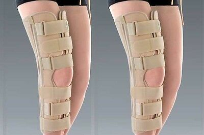 Physio-Med Tri-Panel Knee Immobiliser E-KN081-XL Knee Joint Support Extra Large