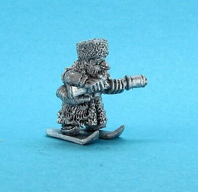 RPE Fantasy - Ullr the Intrepid - Dwarf on Skis (28mm scale) (Veteran Warband)