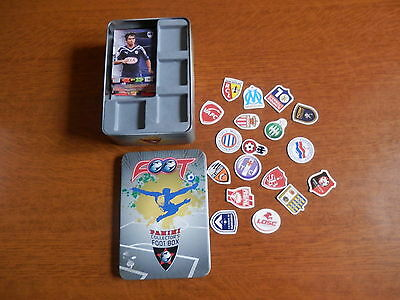 Panini Football Collector S Foot Box + Cartes Adrenalyn + Magnets Club