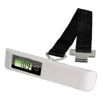"Xavax ""KW-50"" Suitcase Scale - kitchen scales (LCD, White, CR2032, 51 x (D1c)"