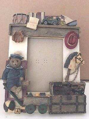 Picture Frame With Sailor Bear, Free Shipping