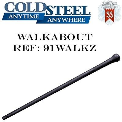 Cold Steel Walkabout Walking Stick / Cane Heavy-grade High-impact Polyproplyene