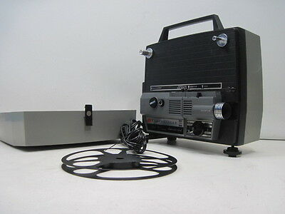 Vintage GAF Anscovision 588 Dual 8mm / Super 8 Movie Auto Load Projector