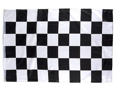 LIEOMO 3 x 5 ft Nascar Black&White Checkered Racing Flag