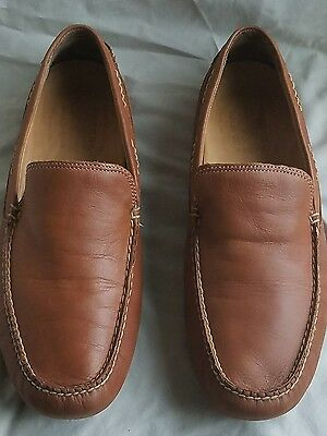 Sperry top sider brown  leather 10847061 men shoes size 11 1/2 M