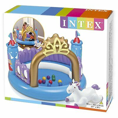 Castello Magico Gonfiabile Con Palline Colorate - Intex