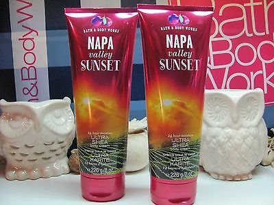 Bath and Body Works( 2 ) ~ Napa Valley Sunset ~ Ultra Shea Body Cream