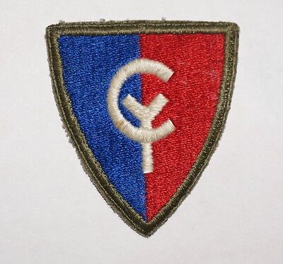 38th Infantry Division Patch WWII US Army P4128
