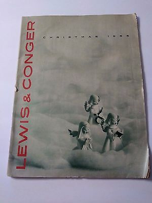 1955 Lewis & Conger Christmas Catalog In Good Condition