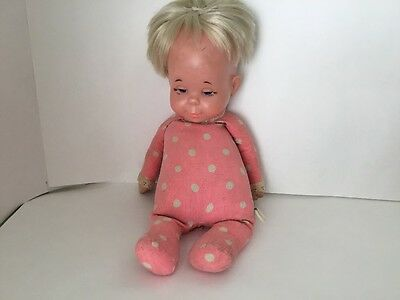 Original Drowsy doll With Polka Dot Outfit 1964 Not Talking #27-865