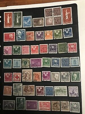 stamps  Sweden - Early Used  - Lot 349