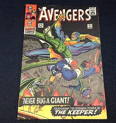 Marvel Comics The Avengers Vol.1, No.31 August 1966 issue