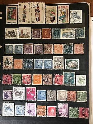 stamps  Sweden - Used - Lot 477