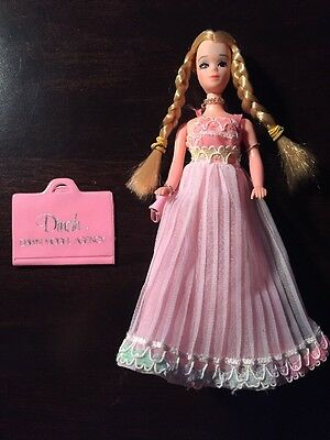 Vintage Dawn Doll Model Agency Dinah Petals And Pleats Gown