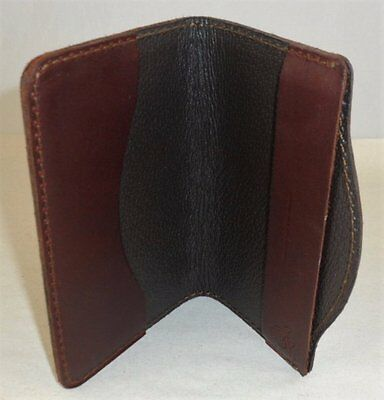 SADDLEBACK LEATHER SMALL MOLESKINE COVER CHESTNUT w/ DARK PIGSKIN - SCRIPT LOGO