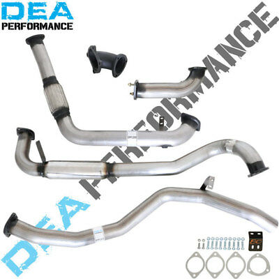 "Landcruiser 80 Series 4.2L 1Hd Turbo Back Stainless Steel 3"" Inch Exhaust Hotdog"