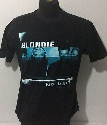 Blondie No Exit 1999 Vintage Rare Tour Shirt 2-sided Graphic Adult Large