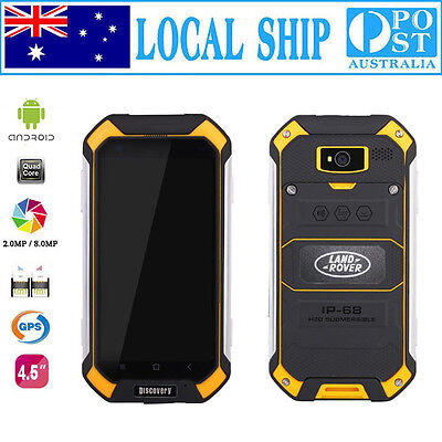 Unlocked Discovery Smartphone Quad Core Rugged Android Smartwild Nut1 V19