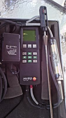 testo 300M-I Exhaust Gas Analyzer Weather Meters