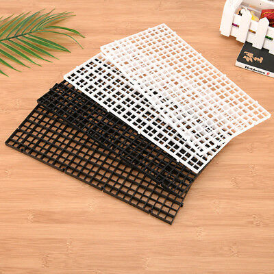 Grid Divider Tray Egg Crate Aquarium Fish Tank Filter Bottom Isolate Black White