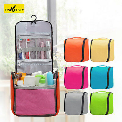 Travel Hanging Wash Storage Bag Organizer Makeup Toiletry Cosmetic Case Unisex