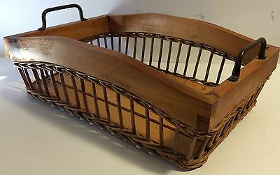 Timber/Cane Serving Tray