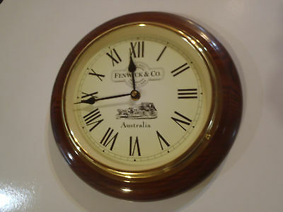 Wall clock Fenwich and Co Royal Mail Coach Lines