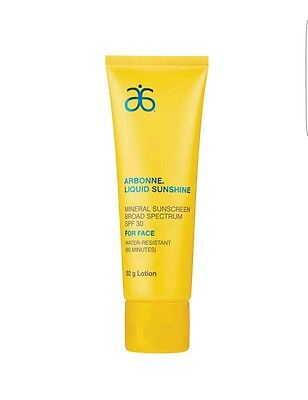 Arbonne Liquid Sunshine Mineral Sunscreen SPF 30 For Face (Will Combine Post)