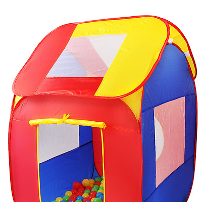 Tenda Gioco per Bambini Pop Up + 200 Palline Colorate + Borsa Interni ed Esterni