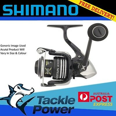 Shimano Sustain FG Spinning Fishing Reel All Sizes Band New
